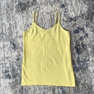 FOREVER 21 | Light Yellow Tank Top